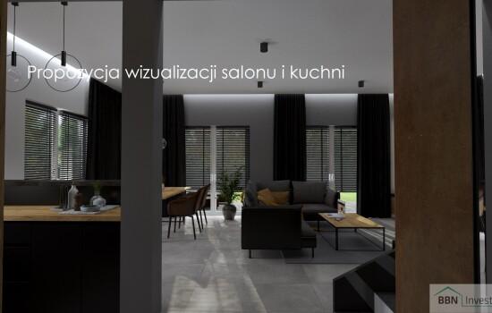 2020-12-05 Propozycja wizualizacji salonu i kuchni 6