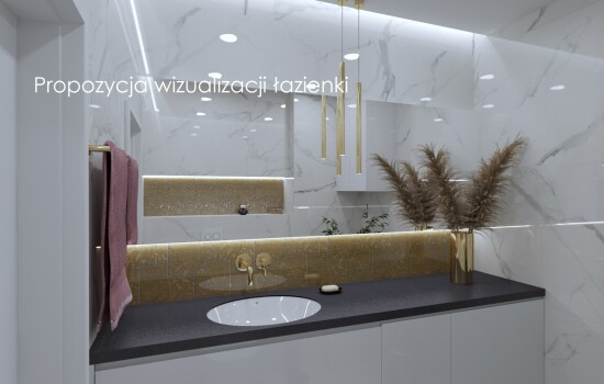 Propozycja wizualizacji łazienki 2