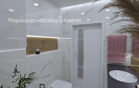 Propozycja wizualizacji łazienki 3